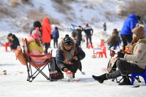 Winter fishing festivals